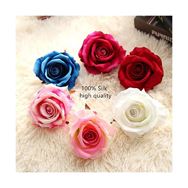 Kirinhomelife-Artificial-Fake-Flowers-Silk-Big-Roses-Heads-Flower-Arrangements-Real-Touch-Flannel-Wedding-Decorations-Floral-Table-Centerpieces-for-Home-Kitchen-Garden-Party-Dcor