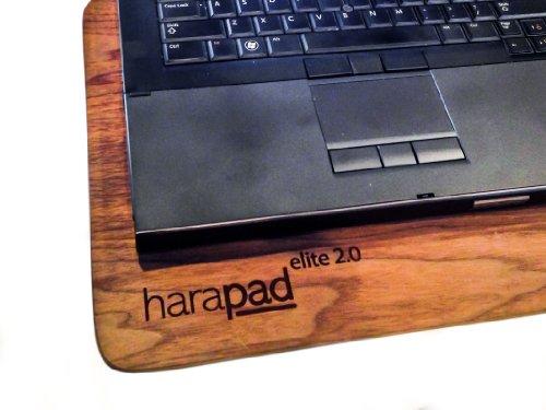 "HARApad EMF Protection - Laptop Radiation & Heat Shield (For 13"" Laptops, Real Wood (Walnut))"