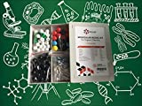 Molecular Model Kit - Premium Quality Set for Organic Chemistry - Color Coded Atom Collection - Science Kit