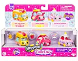 Shopkins Cutie Cars 3 Pack Collections, Die-Cast