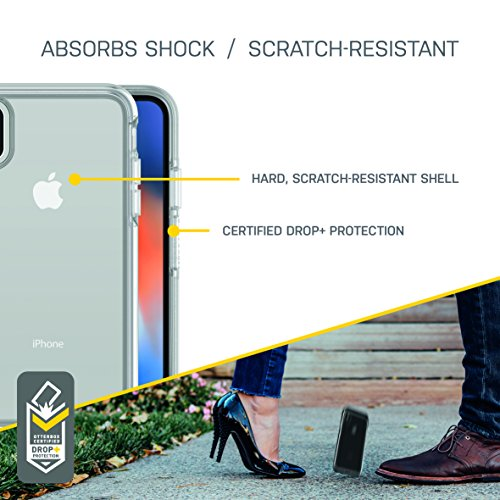 ab3a6d778c OtterBox Symmetry Clear Series Case for iPhone Xs & iPhone X - Frustration  Free Packaging -
