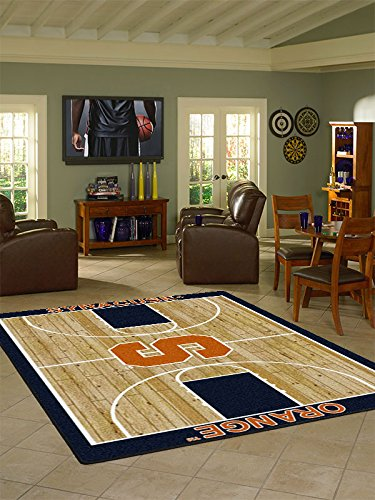 Syracuse College Home Basketball Court Rug: (2706 Rug)