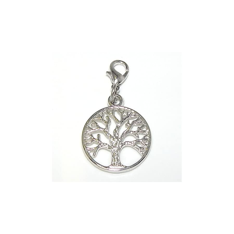 "Pro Jewelry Dangling ""Tree"" Clip on Bead for Charm Bracelet 31226"