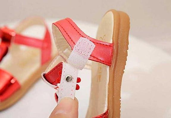 Huhua Sandali Bambine, Rosso (rosso), 2.5-3 Anni