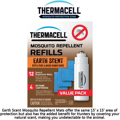 (ThermaCELL Earth Scent Mosquito Repellent Refill Value Pack - 48hrs)