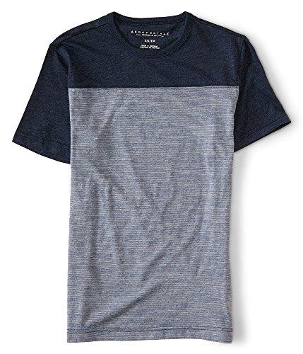 aeropostale-mens-thin-stripe-colorblock-tee-shirt-m-classic-navy