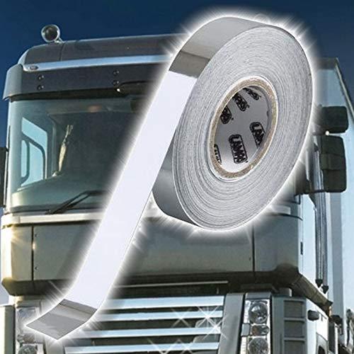 Truck Duck universale cromato adesivo decorativo a strisce 10 m X 10 mm Pellicola Protettiva nastro adesivo camion auto moto