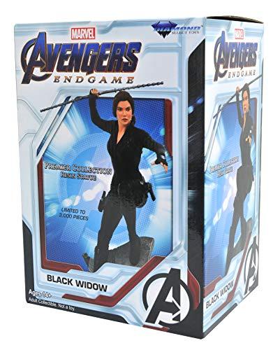 51YswXoBVwL DIAMOND SELECT TOYS Marvel Premier Collection: Avengers Endgame Black Widow Statue, Multicolor