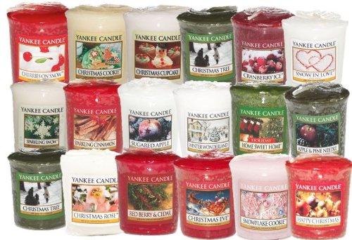 39 opinioni per 8 candele Yankee Candle con aromi una selezione di festivo