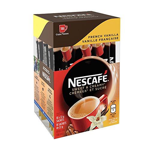 NESCAFÉ Sweet & Creamy French Vanilla, Instant Coffee