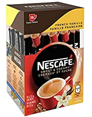 NESCAFÉ Sweet & Creamy French Vanilla, Instant Coffee Sachets, 18x22g (18 Cups)