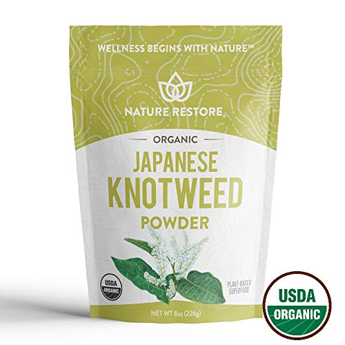 USDA Certified Organic Japanese Knotweed Powder, 226 Grams, Natural Trans-resveratrol, Non GMO, Gluten Free, Also Known as Polygonum Cuspidatum (Best Grape Jello Shots)