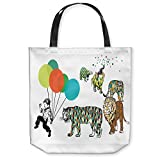 DiaNoche Designs Tote Shoulder Bags by Marci Cheary - Animal Parade