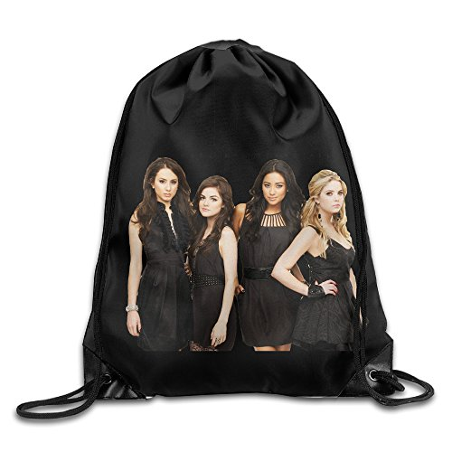 Drawstring Backpack Bag Cropped Pretty Little Liars