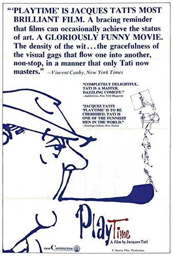 Playtime Poster Jacques Tati Barbara Dennek Jacqueline Lecomte