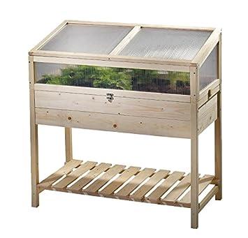 Balkon Terassen Hochbeet Mit Aufsatz 100x50x77 Cm Amazon De Garten