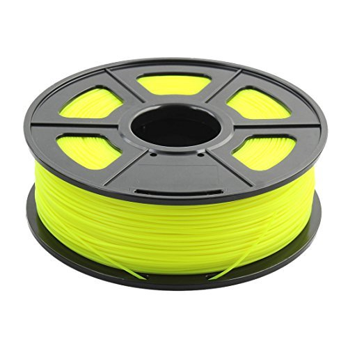 DealMux 1.75mm ABS Noctilucent Glow in Dark 3D Printer Filament Luminous Yellow Sunlu Authorized