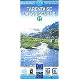 Carte routière : Tarentaise, numéro 15 (anglais/allemand)
