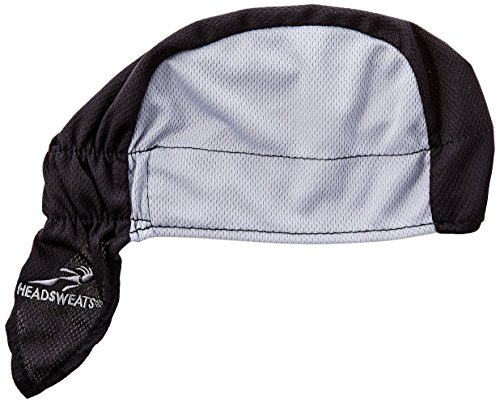 Headsweats Shorty Cycling Cap, Black, One Size
