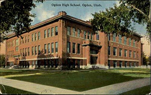 ogden high school ogden utah ogden original vintage postcard at