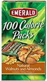 Emerald Natural Walnuts & Almonds, 100 Calorie Pack, 3.92 Ounce Packages (Pack of 12)