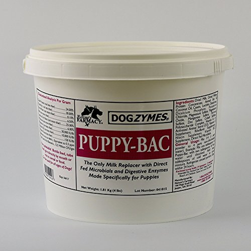 Product image of DOGZYMES Puppy Bac Milk Replacer, 4-Pound