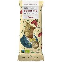 Bennetto Natural Foods Organic Coconut Dark Chocolate Bar 30 g, 30 g