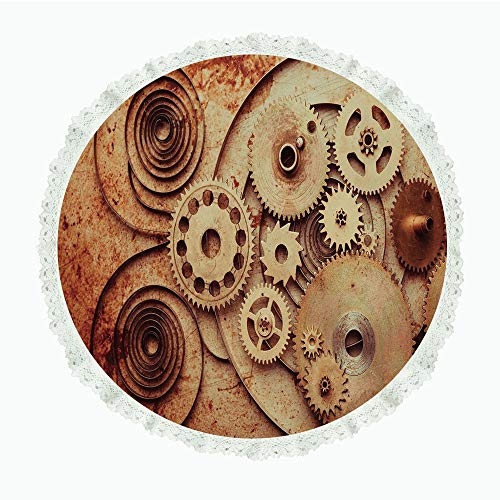 Copper Mechanical Clock (iPrint 60