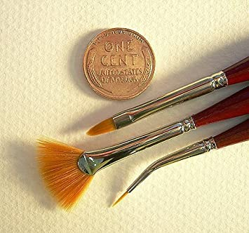 Bent Liner Size 15//0 one brush Micron Mini Art Brush