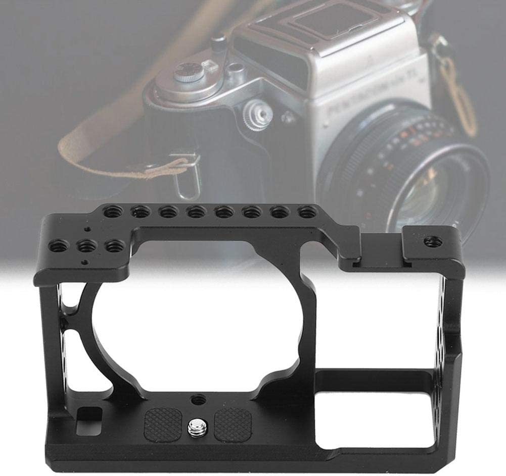 Oumij Aluminium Alloy Camera Cage Stabilizer Rig Protective Case Cover Prevent The Camera from Overheating for Sony A6000 A6300 NEX7