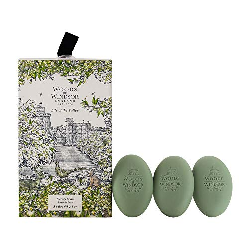 (Woods of Windsor Lily Of The Valley Luxury Soap)