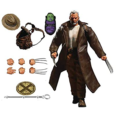 Mezco Old Man Logan 1:12 Collective Marvel Action Figure: Toys & Games