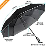 Umbrella, UROPHYLLA Travel Umbrella Windproof umbrella Auto Open&Close Umbrella