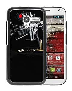 New Beautiful Custom Designed Cover Case For Motorola Moto X With Gun Ar15 Phone Case