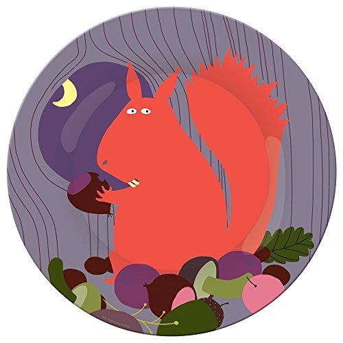 Petit Jour Paris Forest Small Plate - Squirrel