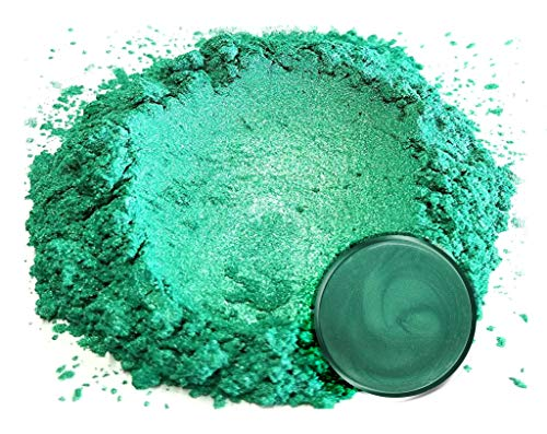 """Eye Candy Mica Powder Pigment """"Forest Green"""" (50g) Multipurpose DIY Arts and Crafts Additive   Natural Bath Bombs, Resin, Paint, Epoxy, Soap, Nail Polish, Lip Balm"""