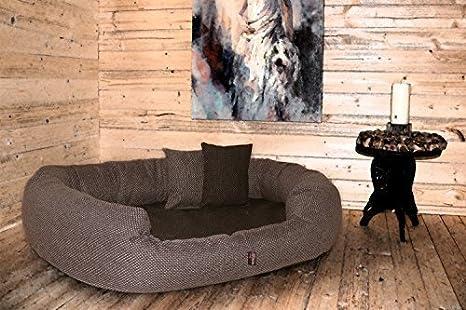 tierlando® Luxus orthopädisches Perros sofá Balou Perros cama colchón de viscoelástica Plus | mano Web