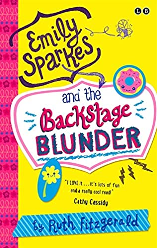book cover of Emily Sparkes and the Backstage Blunder