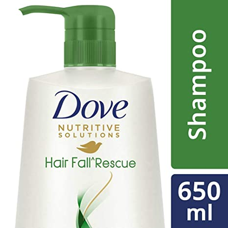 Buy Dove Hair Fall Rescue Shampoo, 650ml Online at Low Prices in