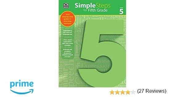Simple Steps for Fifth Grade: Thinking Kids, Carson-Dellosa ...