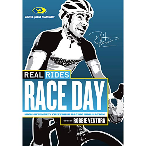 (CycleOps Real Rides Race Day Crit Racing Simulation Indoor Cycling Trainer DVD)
