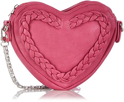 Sacs Rose Femme fuchsia Bandoulière Susu Pink 25 Herztasche Alpenflüstern B7qn4q1