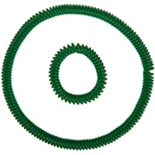 Abilitations Integrations Chewlery Chewable Jewelry, Bracelet and Necklace, Green (Set of 2)