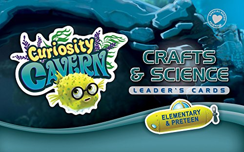 Crafts & Science Leader's Cards: Elementary & PreTeen (Vacation Bible School (VBS) 2016: Deep Sea Discovery—God Is with Me Wherever I G)