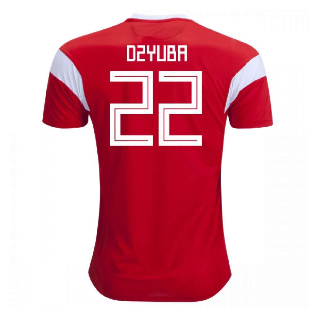 2018-19 Russia Home Football Soccer T-Shirt Trikot (Artem Dzyuba 22)
