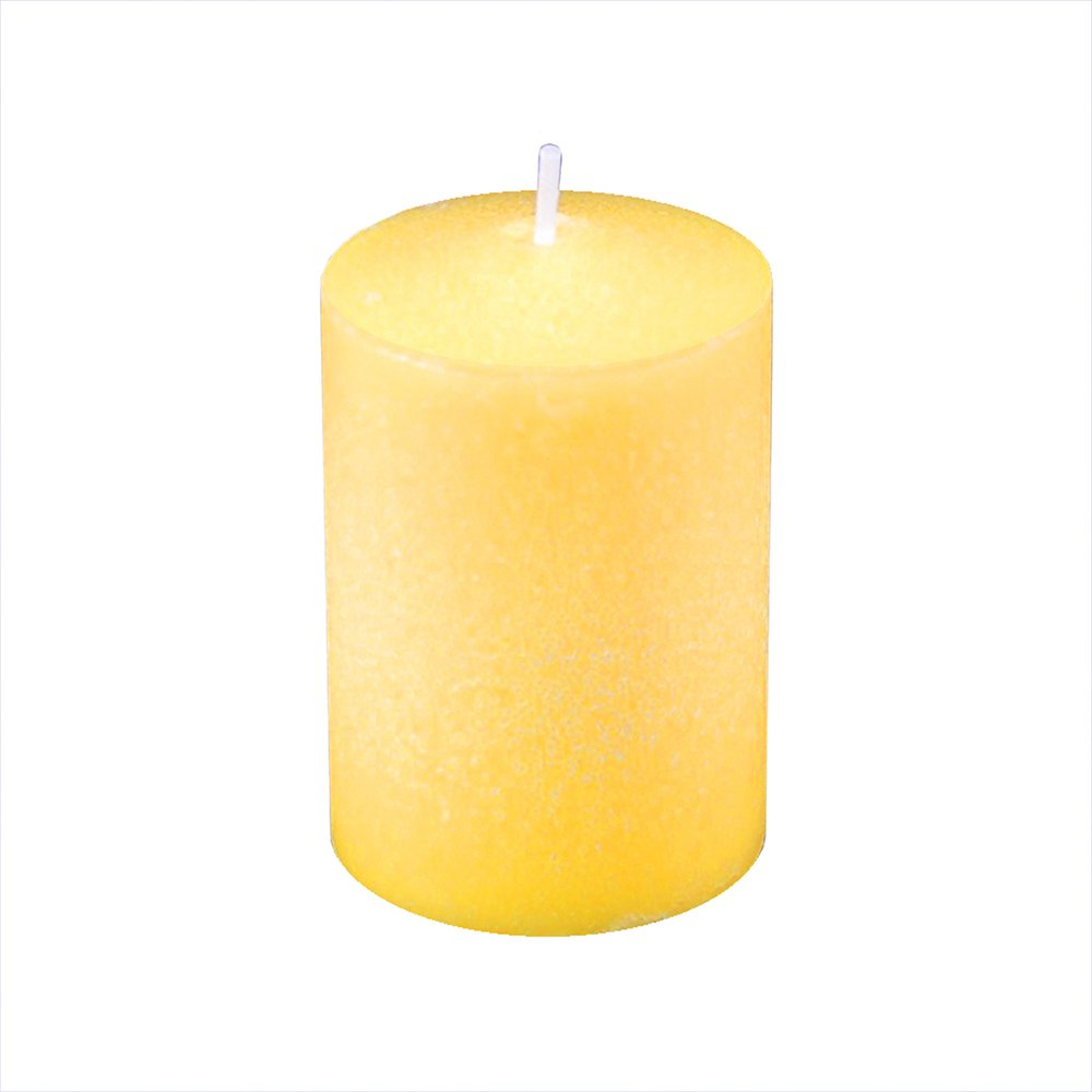 Lumabase 30136 Candles-36ct Citronella Votive Candles, Yellow
