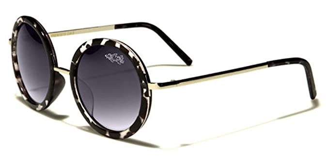 c7f36a33cc95 Amazon.com  Oversized Round Frame Retro Vintage 70 s Sunglasses LARGE Size  due to Wider Frame  Clothing