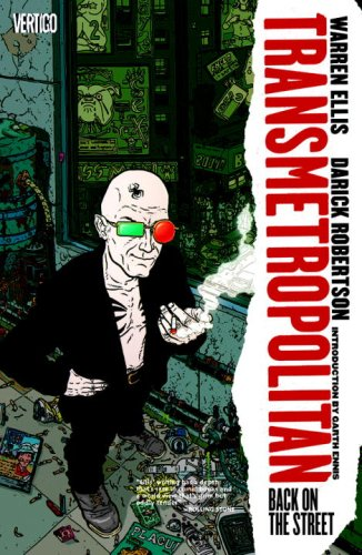 Book cover for Transmetropolitan: Back on the Street