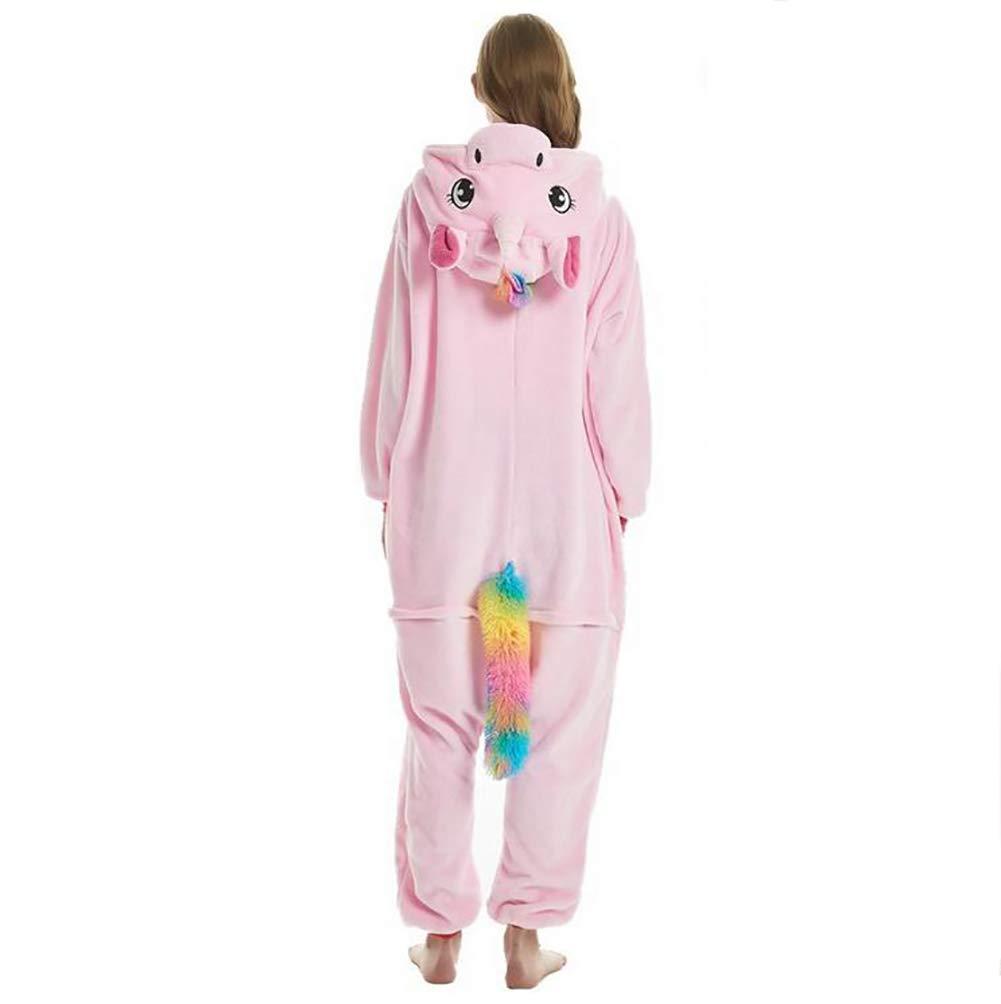 SHANGLY Animal Onesies Unicornio Pijamas Pijamas Pijamas para Unisex Traje de Dibujos Animados Cosplay Ropa de Dormir Mono,M 19539e