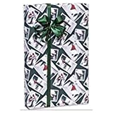 Landscape Stamps 24in.x417ft. Gift Wrap Counter Roll - 1 Roll